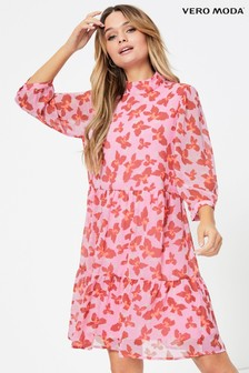 Vero Moda Printed Smock Dress