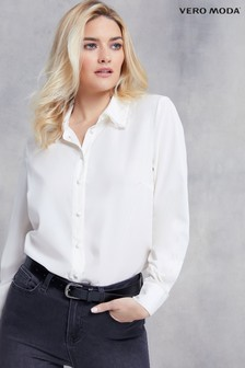 Vero Moda Lace Detail Collar Shirt