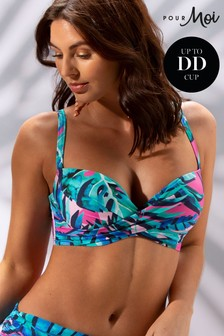 Pour Moi Free Spirit Halter Lightly Padded Underwired Top