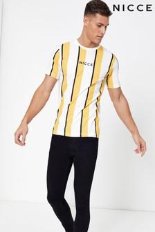 Nicce Striped T-Shirt
