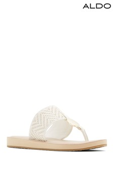 Aldo Leather Flat Sandal
