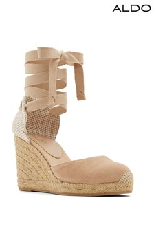 Aldo Espadrille Wedges With Closed Toe