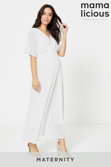 Mamalicious Maternity Nursing Bridal Dress
