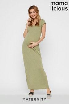 Mamalicious Maternity Neppy T-Shirt Maxi Dress