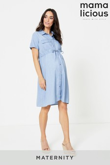 Mamalicious Maternity Nursing Function Dress