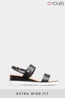 Yours Ocean Wedge Sporty Sandal