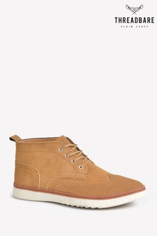 Threadbare London Brogue Boot