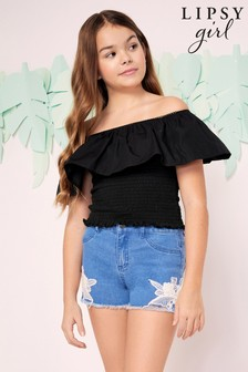 Lipsy Girl Denim Shorts