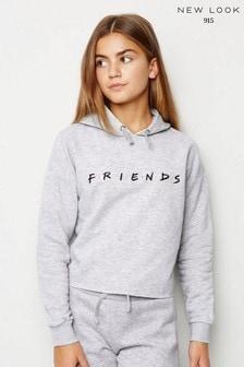 New Look Girls Friends Slogan Hoodie