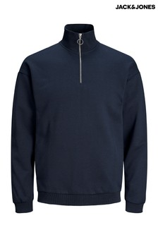Jack & Jones Zip Neck Jumper