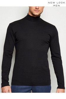 New Look Long Sleeve Roll Neck Top