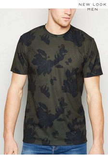 New Look Floral Short Sleeve T-Shirt