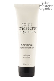 John Masters Organics Hair Mask for normal Hair with Rose & Apricot 148ml