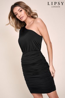 Lipsy Slinky One Shoulder Dress