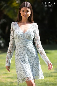 Lipsy VIP Long Sleeve Bodycon Dress