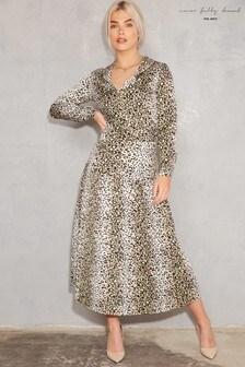 Never Fully Dressed Chester Highlight Leopard Print Shirt
