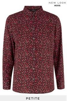New Look Petite Abstract Spot Shirt