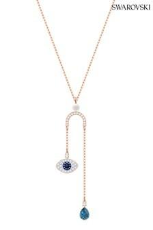 Swarovski Symbolic Evil Eye Y Necklace