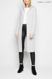 New Look Hooded Knit Cardigan