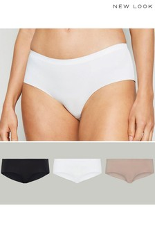 New Look Seamless Short Briefs - Pack Of 3