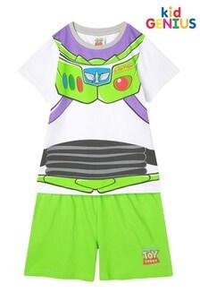Kids Genius Toy Story's Buzz Lightyear Pyjama Shorts Set