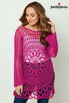 Joe Browns Mesmerising Crochet Knit
