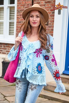 Joe Browns Quirky Crochet Cardigan