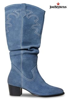 Joe Browns Sundown Suede Slouch Boots