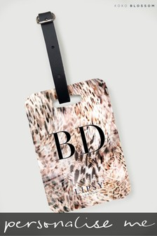 Personalised Lexie Luggage Tag by Koko Blossom