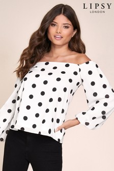 Lipsy Bardot Top