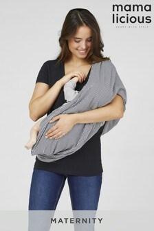 Mamalicious Maternity Stripe Nursing Scarf