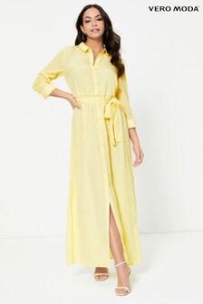 Vero Moda Shirt Style Maxi Dress
