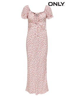 Only Milk Maid Floral Maxi Dress
