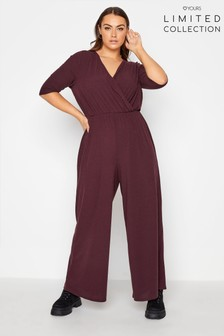 Yours Limited Wrap Rib Jumpsuit