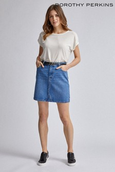 Dorothy Perkins Denim Mini Skirt