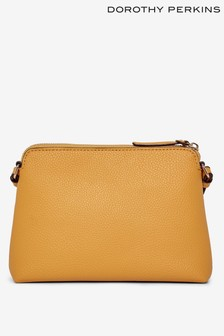 Dorothy Perkins Zip Top Cross Body Bag