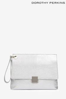Dorothy Perkins Pushlock Wristlet Bag