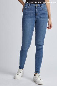 Dorothy Perkins Mid Wash Shape & Lift Jeans