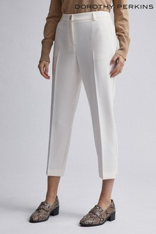 Dorothy Perkins Crepe Tapered Trousers