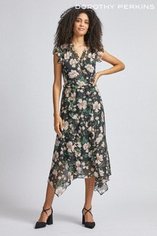 Dorothy Perkins Floral Print Midi Dress