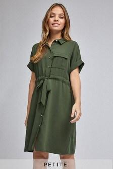 Dorothy Perkins Petite Tie Waist Shirt Dress