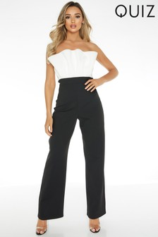 Quiz Strapless Jumpsuit