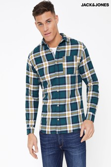 Jack & Jones Long Sleeve Check Shirt