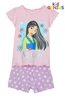 Kids Genius Mulan Pyjama Short Set