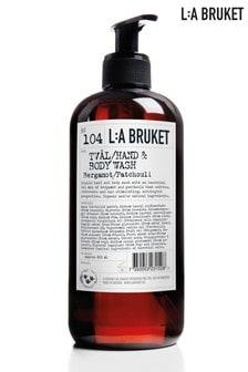 L:a Bruket Hand and Body Wash Bergamot & Patchouli 450ml