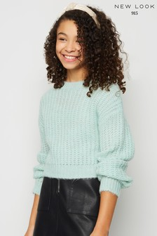 New Look Girls Brushed Knit Jumper
