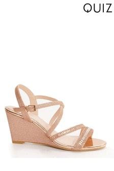 Buy Women's Footwear Wedge Sandals Quiz