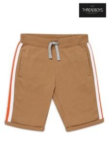 Threadboys Side Stripe Fleece Shorts
