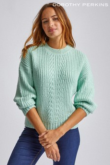 Dorothy Perkins Pointelle Stitch Jumper