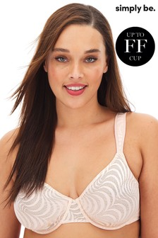 Simply Be Jessica Lace Full Cup Bra DD+